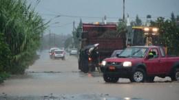 File Photo: Πλημμυρισμένοι δρόμοι από την καταρρακτώδη βροχή. ΑΠΕ-ΜΠΕ, ΜΠΟΥΓΙΩΤΗΣ ΕΥΑΓΓΕΛΟΣ