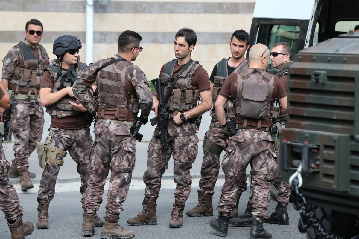 """""""Επιδημία"""" κλοπής όπλων στην Τουρκία ή πως ο Ερντογάν εξοπλίζει τους πραιτωριανούς του…"""
