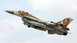 File Photo: An Israeli F-16 fighter jet takes off during the joint Air Forces drill 'Blue Flag' at the Ovda Air Force Base in the Negev Desert, southern Israel. EPA, ABIR SULTAN