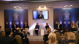 Στιγμιότυπο από την εκδήλωση για τη Διασπορά. Φωτογραφία Delphi Forum