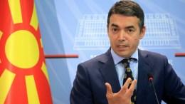 File Photo: Ο Σκοπιανός  Υπουργός Εξωτερικών Νίκολα Ντιμιτρόφ. EPA, MALTON DIBRA