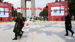 Ο Πρόεδρος της Τουρκίας Ταγίπ Ερντογάν. Photo via Turkish Presidensy