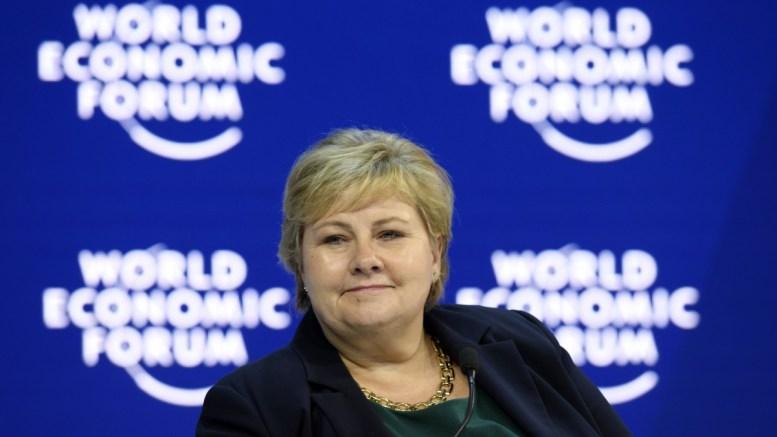 File photo: Erna Solberg, Prime Minister of Norway. EPA, GIAN EHRENZELLER