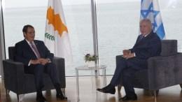 File Photo: Ο Πρόεδρος της Δημοκρατίας Νίκος Αναστασιάδης σε συνάντηση με τον Πρωθυπουργό του Ισραήλ Βενιαμίν Νετανιάχου. ΓΤΠ, Χ.ΑΒΡΑΑΜΙΔΗΣ