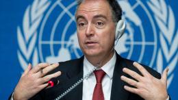 Panos Moumtzis, a high official of the UN. Photo by Jean-Marc Ferré