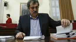 Ο αναπληρωτής υπουργός Υγείας Παύλος Πολάκης παρευρίσκεται στη εξεταστική επιτροπή που διερευνά τα σκάνδαλα στον χώρο της υγείας την περίοδο 1997- 2014, στη Βουλή Αθήνα Τετάρτη 21 Μαρτίου 2018. ΑΠΕ-ΜΠΕ, ΓΙΑΝΝΗΣ ΚΟΛΕΣΙΔΗΣ