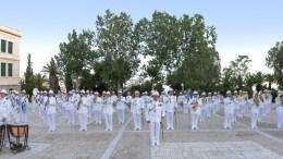 File Photo: Η φιλαρμονική του Πολεμικού Ναυτικού. Φωτογραφία via επίσημη ιστοσελίδα Πολεμικού Ναυτικού