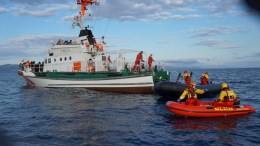 File photo: A search and rescue operation in the waters southeast of Agathonissi is continuing. ΑΠΕ-ΜΠΕ,,STR