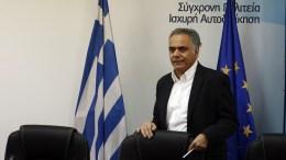 Ο υπουργός Εσωτερικών Πάνος Σκουρλέτης. ΑΠΕ-ΜΠΕ, ΑΛΕΞΑΝΔΡΟΣ ΒΛΑΧΟΣ