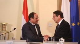 File Photo: Στιγμιότυπο από παλαιότερη συνάντηση των Προέδρων Κύπρου και Αιγύπτου ΑΠΕ-ΜΠΕ, PIO ,Σταύρος Ιωαννίδης