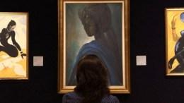 Το πορτραίτο της πριγκίπισσας Αντετούτου Αντεμιλούγι, γνωστής ως Τούτου πουλήθηκε σε δημοπρασία  αντί 1.205 λιρών. Photo @amna_news