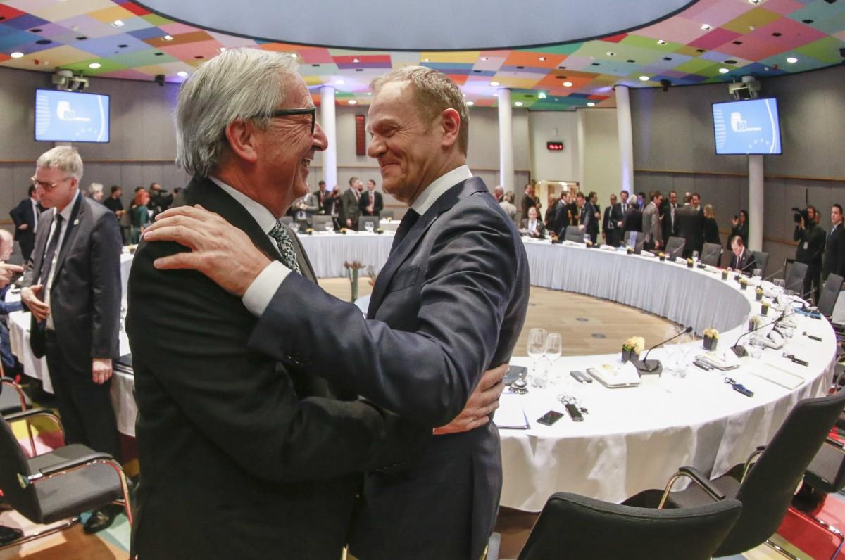 """Θα είναι """"ισχυρό το μήνυμα"""" των Ευρωπαίων ηγετών προς την Τουρκία, δηλώνει ο Τουσκ"""