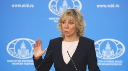 Russian Foreign Ministry spokesperson Maria Zakharova speaks at a news briefing in Moscow, Russia, 15 March 2018. EPA, SERGEI ILNITSKY
