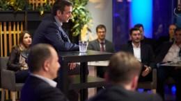 Ο πρόεδρος της Νέας Δημοκρατίας, Κυριάκος Μητσοτάκης, σε συζήτηση με τοπικούς φορείς της Ρόδου, στο πλαίσιο της διήμερης επίσκεψής του στη Σύμη και τη Ρόδο, την Τρίτη 6 Μαρτίου 2018. ΑΠΕ-ΜΠΕ, ΓΡΑΦΕΙΟ ΤΥΠΟΥ ΝΔ, ΔΗΜΗΤΡΗΣ ΠΑΠΑΜΗΤΣΟΣ