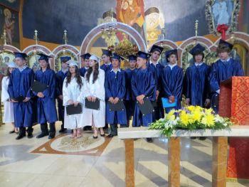 Tsounis St Nicks graduating class