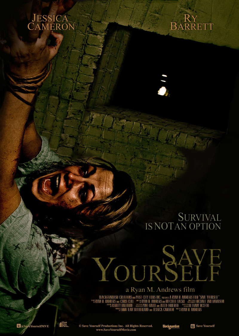 Animes Wallpaper Jessica Cameron S Save Yourself Movie Poster Hell Horror