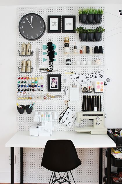 Diy organiser son bureau h ll blogzine - Organiser un bureau ...