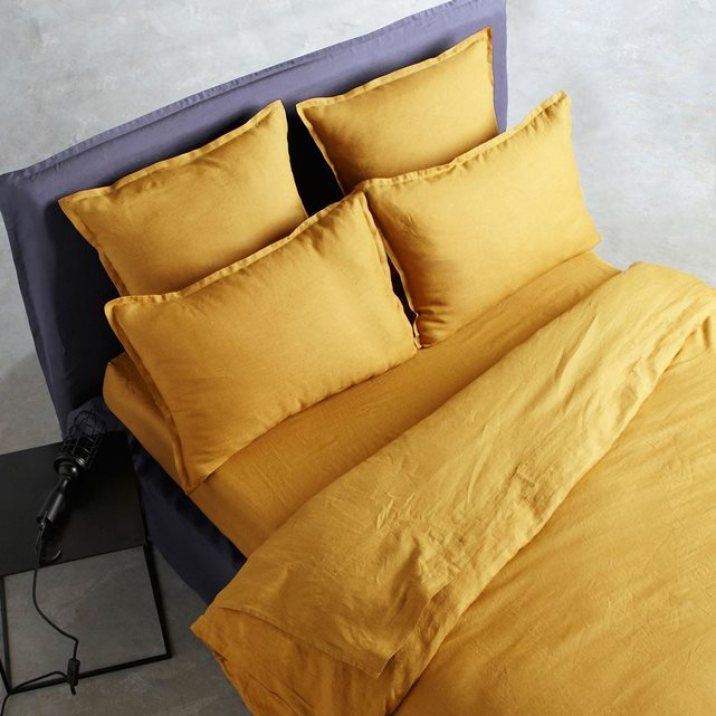tendance jaune curry. Black Bedroom Furniture Sets. Home Design Ideas
