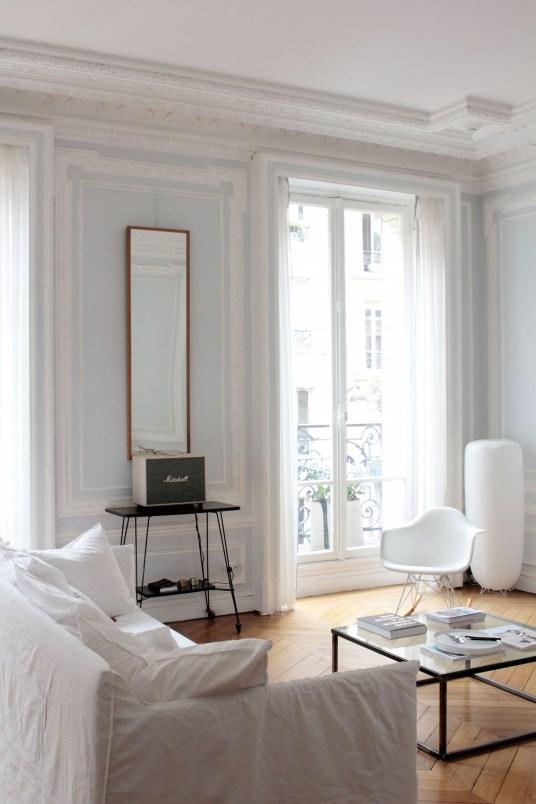 L 39 interieur parisien chic et cr atif de la blogueuse vanessa pouzet - Deco appartement parisien ...