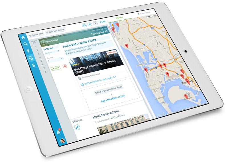 Travel Itinerary Builder - Online Trip Planner Travefy