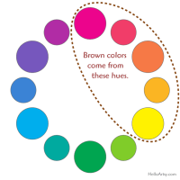 How To Make Brown - HelloArtsy