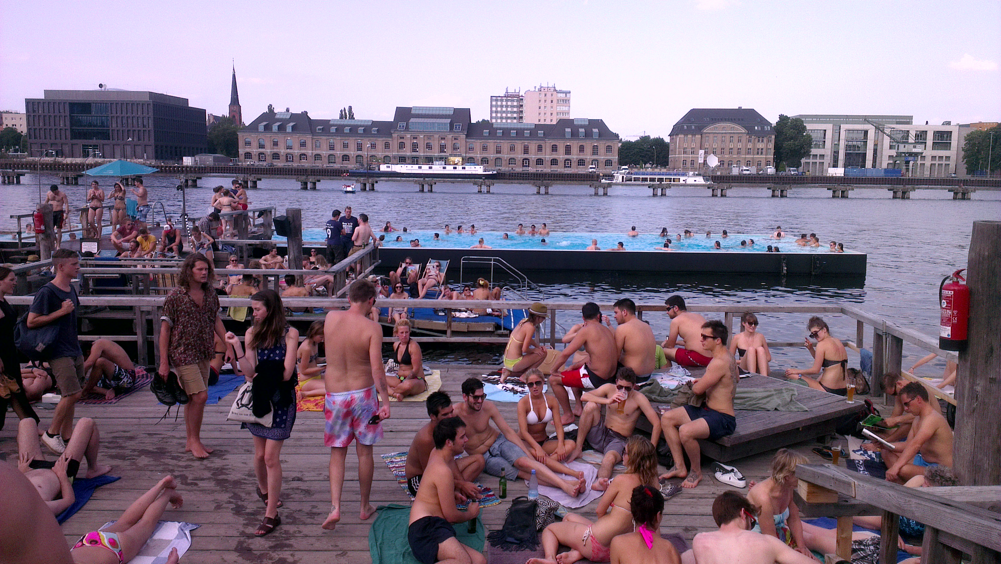 Swimming Pools In Berlin Empty Barge Swimming Pool Huh Hellobonjour