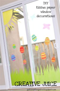 Weekly Inspiration- Easter Window Decoration Crafts With ...