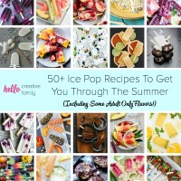 50+ Ice Pop Recipes For The Whole Family (Including Some Adult Only Flavors!)
