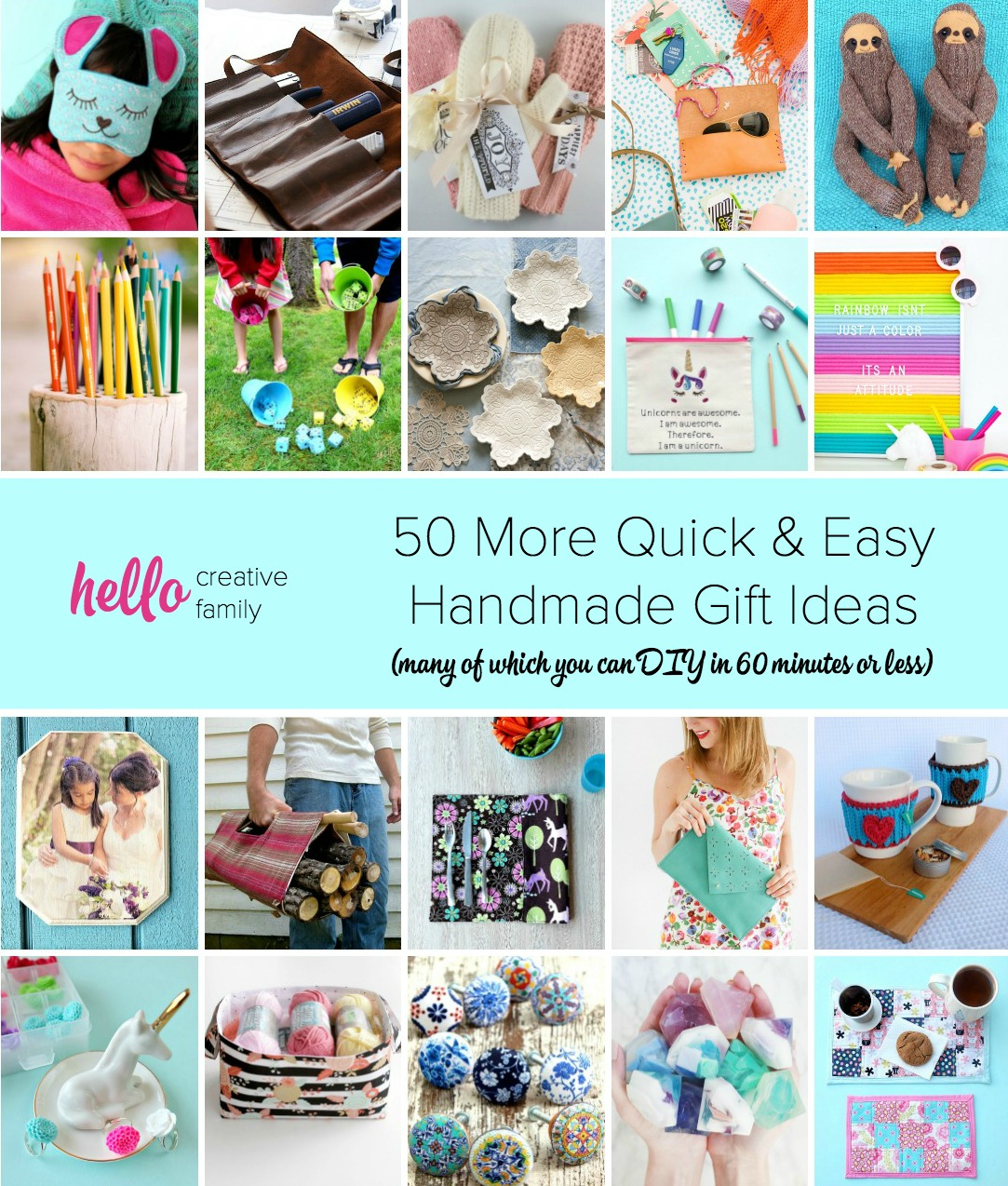 Awesome Diy Mother's Day Gifts 50 More Quick And Easy Handmade Gift Ideas 1 Hour Or Less