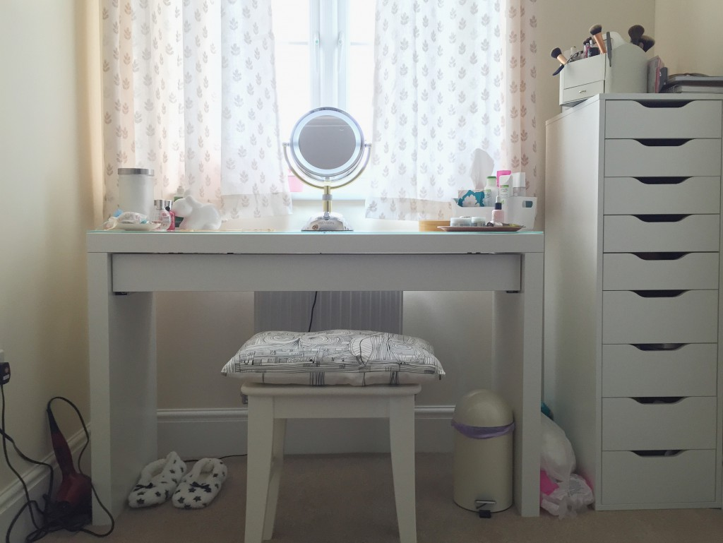 Ikea Dessing Fabulous Malm Dressing Table And Alex Make Up Storage With