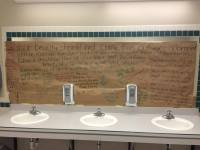 These students covered their school's bathroom mirrors to ...