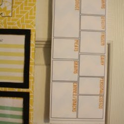 DIY Grocery Planning Organizer