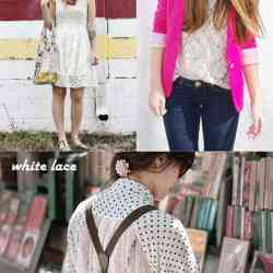 Lace Fashion Trend