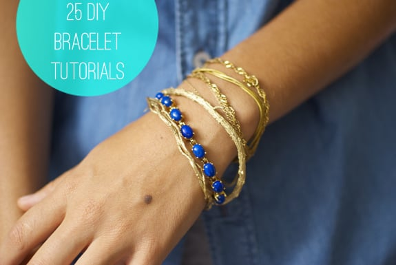 25 Diy Bracelets Helloglowco