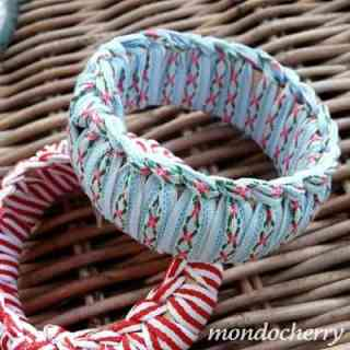 DIY Bracelets Ribbon