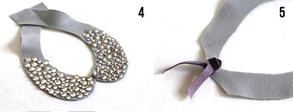make jeweled collar
