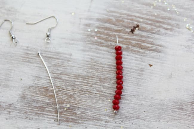 Bead Earring How-to
