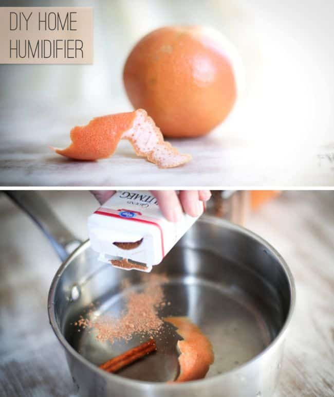 DIY Home humidifier