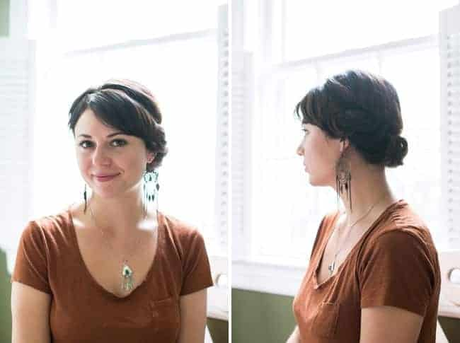 2-Minute Updo Tutorial | HelloGlow.co