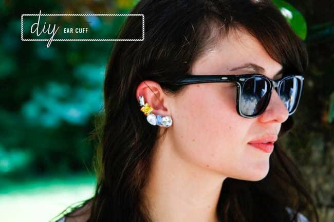 DIY Ear Cuff | Hello Glow