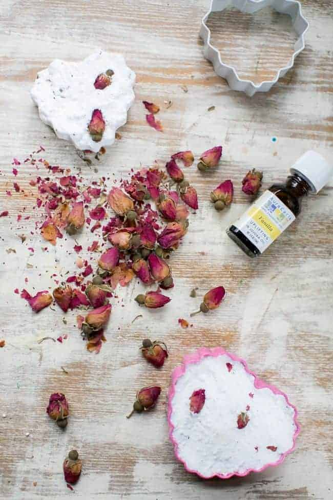 Rose Bath Bombs | Hello Glow