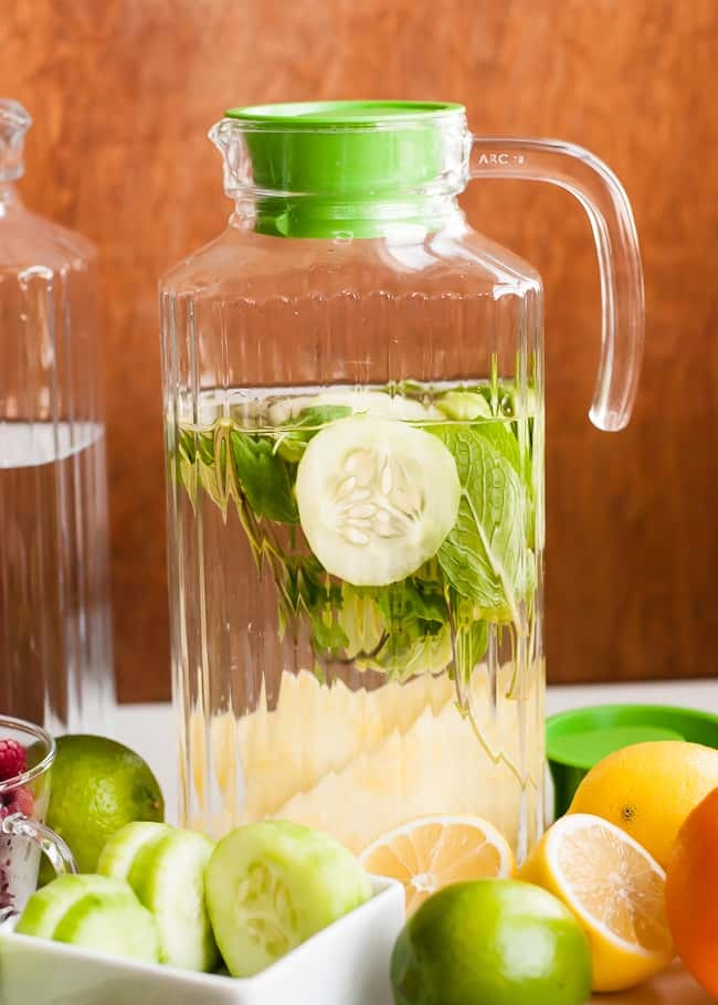 Cucumber Infused Water | HelloGlow.co