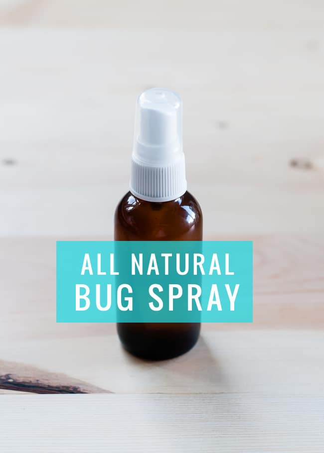 DIY All Natural Bug Spray | Hello Glow