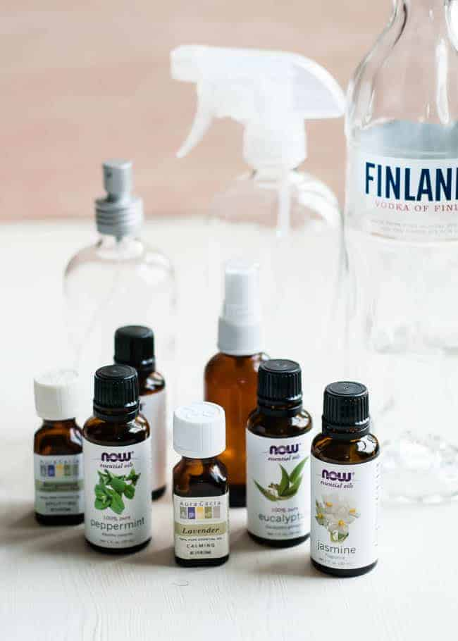 Essential oil room spray ingredients | HelloGlow.co