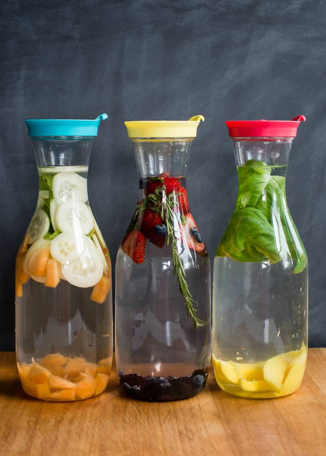 Summer Infused Water 3 Ways | HelloGlow.co