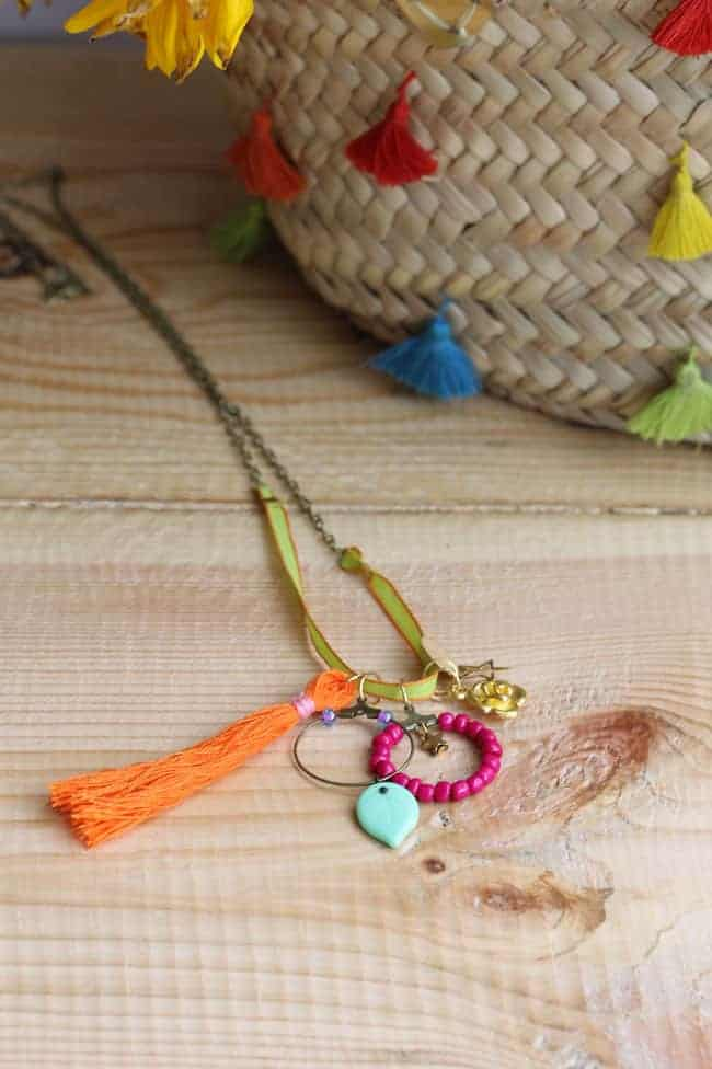 DIY Necklace with Charms | HelloGlow.co