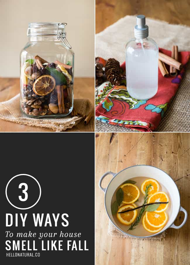 3 Easy DIY Fall Scents | HelloGlow.co