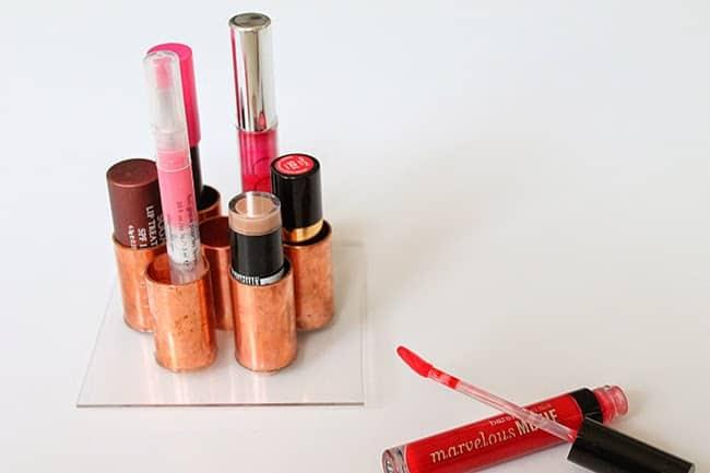 15 Diy Makeup Organizers Helloglowco