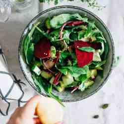 Stay Gorgeous with 2 Easy, Beauty-Boosting Salads