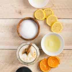 Exfoliating (+ Naturally Antibacterial) Sea Salt Hand Scrub